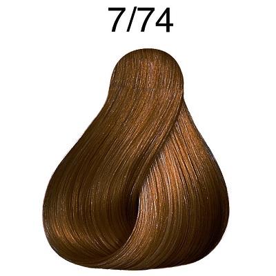 COLOR FRESH 7/74 Блонд коричнево-красный 75 мл