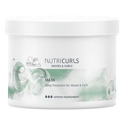 Питательная маска для кудрявых и вьющихся волос Nutricurls 500 мл
